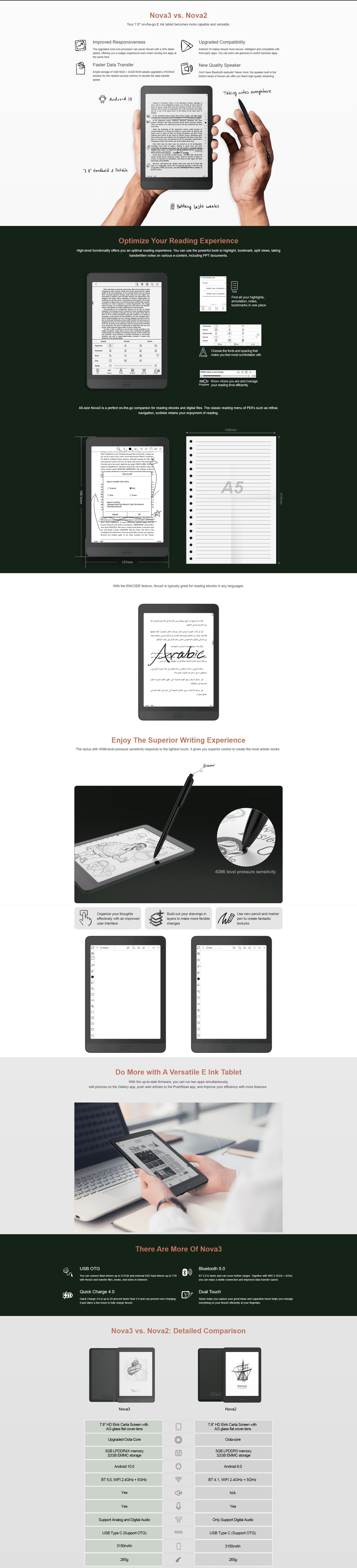 Onyx Boox Nova3 Product Page